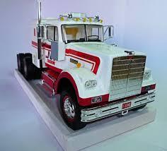 100 Model Truck Kits Semi Metal