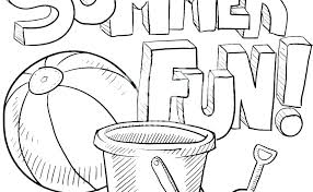 Printable Summer Coloring Pages Activities Unique Ideas Pdf