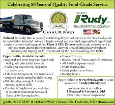 Class A CDL Drivers, Richard B. Rudy Inc., Frederick, MD Now Hiring Cecil Transit Truckin My Seasonal Job Driving A New Hino Truck Posting Class B Cdl Drivers Wanted Commercial And Diabetes Can You Become Driver Traing School Ilink Business Manag On Twitter Now Hiring Ilinkmanag License In Los Angeles Apply For Lessons Today Transfer Jobs Mountain Rescue Local Billings Mt Dts Inc Drivers Vs