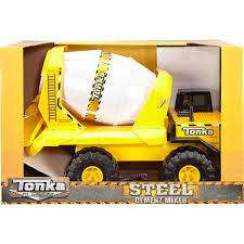 Funrise Tonka Steel Classic Cement Mixer | Cars, Trucks & Planes ...