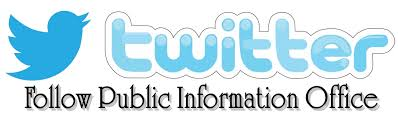 Public Information ficer Twitter Icon