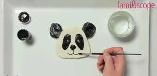 un panda en pâte à sel pate a sel panda sels et pâtes