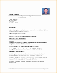 Gallery Of Pursuing Mba Resume Format Luxury Famous For Candidate Ideas