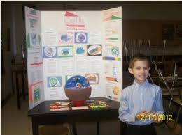 Danny Worked Really Hard On His Science Cell Project He Chose To Do A 3D Model Of An Animal Also Had Complete Posterboard That Compared