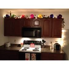 Paper Flowers Added Lights Leaves A Girly Kitchen
