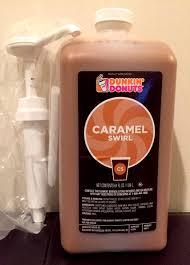 Pumpkin Dunkin Donuts by Dunkin Donuts Caramel Swirl With Pump