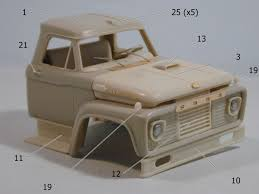 Dan's Models: FORD F CAB 1-25 SCALE RESIN KIT | I <3 MODEL KITS ... Resin Model Kits Yarmouth Works Aussie K200 Truck Kit 124 An Trucks Koda 706 Rts 1 Model Kits 143 Scale Mac 125 Trucks And Three Scratch Built Trailers On The Amazoncom Planet Models 172 German Bussing 4500a Truck Kit Mack E7 Etech Engine Nissan Dakar Rally Auto Magazine For Building Model Trucks Mercedes Benz Actros Mp3 Resin Cversion Kit Fireball Modelworks Builder Com Molinum Parts