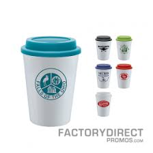 Reusable Customized Travel Coffee Cups Work To Market Your Brand