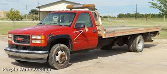 1998 GMC Sierra 3500HD SLE Rollback Truck | Item DB4542 | SO...