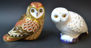 A Royal Crown Derby Paperweight, Short Eared Owl, Guild Exclusive ... Winter Owl Paperweight Royal Crown Derby Collection Rspb Shop A Large Prestige Edition Paperweight Long Eared The Barn Gift 91papbox62729_07jpg Lot 250 Printed Mark Colctables Exclusive Collections Robin Happy Birthday Bear A Beswick Owl 1046 2 Porcelachina Pottery Porcelain Glass