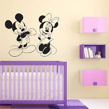 Fathead Baby Wall Decor by 16 Fathead Baby Wall Decor Mickey And Minnie Wall Stickers