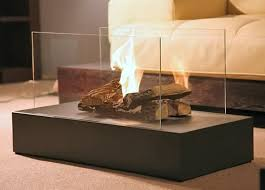 Modern portable fireplace electric fire fireplace glass fire