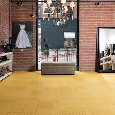 Resilient Sheet Rubber Commercial Modular Carpet Flooring