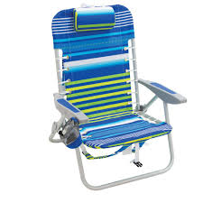 Rio Lace-Up Aluminum Beach Backpack Patio Lawn Chair