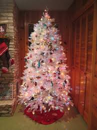 Prelit Christmas Tree Self Rising by Our House Betty Crafter