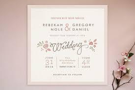Romantic Rustic Wedding Invitations Chic