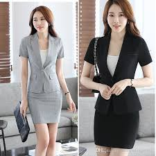 2018 Womens Summer Autumn Spring Work Wear Slim Fall Skirts Ladies Plus Size Xxxxl Business Formal Office Suits Dress Dk831f From Andrewknight007