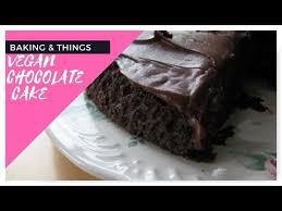VEGAN CHOCOLATE CAKE USING DUNCAN HINES CAKE MIX