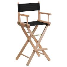 Aluminum Directors Chair Bar Height by Bar Height Folding Directors Chair Free Shipping Today