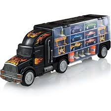 100 Accessories For Trucks Vehicle Playsets Toy Truck Transport Car Carrier Includes 6 Cars
