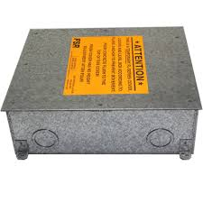 Fsr Floor Boxes Fl 500p by 100 Fsr Floor Box Covers In Carpet Wireway Lareg Fire Rated
