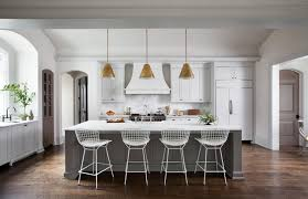 o brien lighting kitchen transitional with arch counter