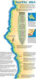 Surfin USA Map