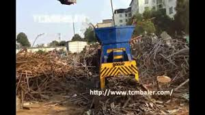 Christmas Tree Baler Used by Tcm Baler Scrap Steel Container Shear Machine Australia Canada