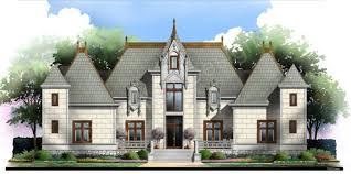 Spacious House Plans by Devereaux Castle House Plans Spacious House Plans