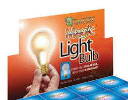 Magic Atomic Light Bulb Glass