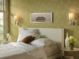 gorgeous bedroom wall designs mounted bedside lights contemporary