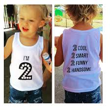 Birthday Shirts For Your Two Year Old!
