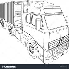 How Do You Draw A Truck Container Truck And Trailer Line Drawing ... How To Draw A Pickup Truck Step 1 Cakepinscom Projects Scania Truck By Roxycloud On Deviantart Youtube A Simple Art For Kids Fire For Hub Drawing At Getdrawingscom Free Personal Use To Easy Incredible Learn Cars Coloring Pages Image By With Moving