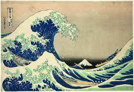 hokusai et les trente six vues du mont fuji rmn grand palais