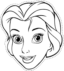 Colour In Elsa And Wear The Print As A Mask Click On Image To