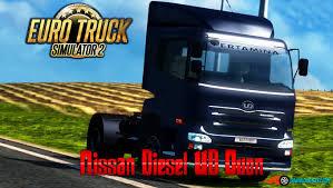 100 Nissan Diesel Truck UD Quon V10 ETS2 Mods SCS Mods Euro