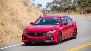 2017 Honda Civic hatchback review with price horsepower and photo