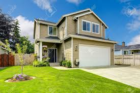 100 Picture Of Two Story House Story House Exterior With White Door Garage And Driveway