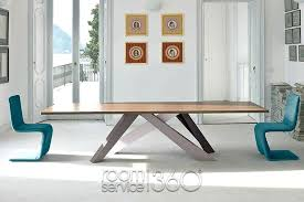 Extension Dining Room Table Remarkable Modern Tables Big Designer For