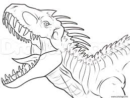 Coloriage Dinosaure Tyrannosaure Archives ColoriageNoeltech