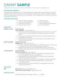 Resume Professional Summary Examples | Ckum.ca