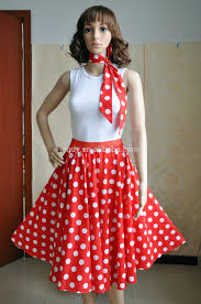 50S Theme Dress Fashion Dresses