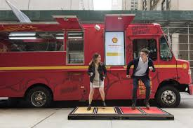Shell Gets New Yorkers To Jump For Their Lunch With Eco Food Truck