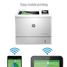 HP LaserJet M553dn Color Laser Printer Office Depot