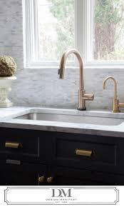 Danze Opulence Kitchen Faucet Black by Black Champagne Bronze Kitchen Faucet Wall Mount Two Handle Side
