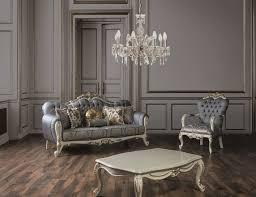 casa padrino luxus barock wohnzimmer sessel mit glitzersteinen blau weiß gold 95 x 80 x h 115 cm edle wohnzimmer möbel im barockstil