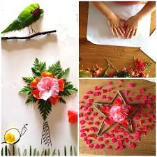 Nature Collage With Kids
