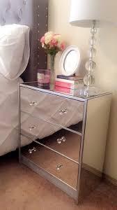 Hayworth Mirrored 3 Drawer Dresser by Best 20 Mirrored Nightstand Ideas On Pinterest Mirror Furniture