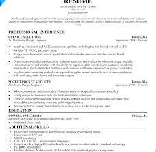 Computer Engineering Resume Samples Examples