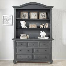 Munire Dresser With Hutch by 7 Drawer Dresser London Lane Arctic Gray Oxford Baby U0026 Kids